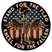 Battlefield Cross Stand For The Flag 7 Decal Skullsociety