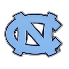 North Carolina Tarheels Unc Car Emblem Color Metal Car Logo Decal