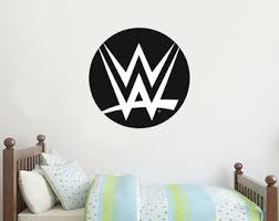 Wwe Wall Stickers Etsy