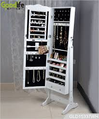 jewelry storage cabinet with full