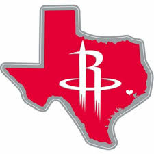 Houston Rockets Sticker 5 3 4in X 7 3 4in Party City