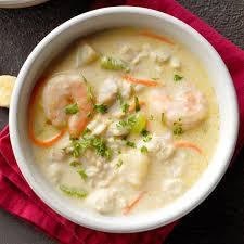 Rich Seafood Chowder Recipe