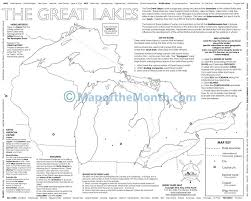 Great Lakes Map - Maps for the Classroom