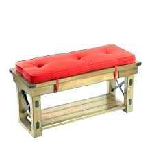 55 inch outdoor bench cushion