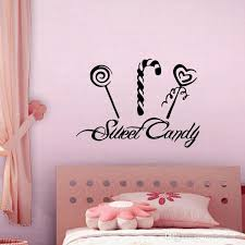 Sweet Candy Wall Stickers For Kids Rooms Lollipop Wall Decals Diy Removable Pvc Sticker Home Decor Name Wall Stickers Nursery Decals From Moderndecal 6 51 Dhgate Com