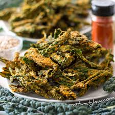 smoked bbq kale crisps are as healthy