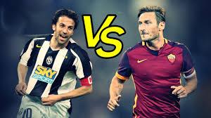 Totti Vs Del Piero - Epic Goals Show | Totti contro Del Piero, Gol ...