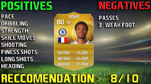 FIFA 15 LOIC REMY PLAYER REVIEW AND IN GAME STATS! - YouTube