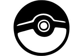 Pokemon Go Pokeball Black 6 Inch Die Cut Vinyl Decal For Windows Cars Trucks Toolbox Laptops Virtually Any Hard Smooth Surface Wish