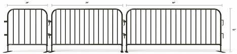 Rent Crowd Control Barricades Crowd Control Barriers Rental