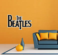The Beatles Band Music Room Wall Decor Sticker Decal 25 X16 For Sale Online