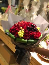 ورود فريدة Farida Flowers On Twitter باقة ورد وفواكة