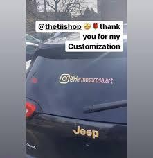 Social Media Car Decal Instagram Name Window Decal In 2020 Instagram Names Social Media Social Media Logos