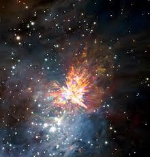 ALMA capta unos impresionantes fuegos artificiales estelares | ESO ...