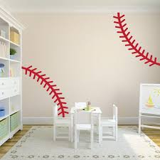 Baseball Stitch Wall Decal Baseball Wall Decals Wall Decal World