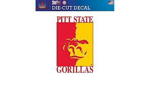 Victory Tailgate Pittsburg State University Gorillas Die Cut Vinyl Decal