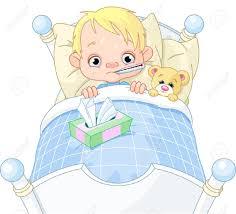 sick child: Cartoon | Clipart Panda - Free Clipart Images