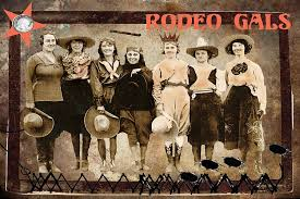 Rodeo Gals Digital Art by Myrna Jackson