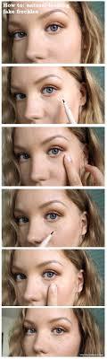 makeup freckles tutorial saubhaya makeup