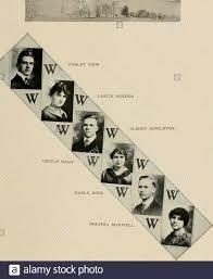 Murmurmontis: [Yearbook] 1918 . AGNES HOWARD HELEN BOUNDY MARGARET MURRAY  eighty-six. CECILE WEST DELPHIA MAXWELL eighty-seven Stock Photo - Alamy