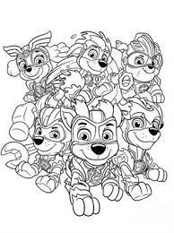 Kids N Fun 24 Kleurplaten Van Paw Patrol Mighty Pups