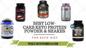 keto protein powders low carb t