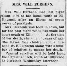 Elva Smith-Burhenn, death. - Newspapers.com