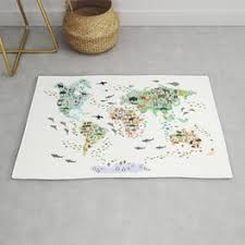 Australia Map Rugs For Any Room Or Decor Style Society6