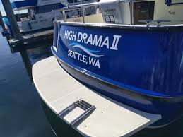 Seattle Sign Company Boat Graphics Boat Stickers Boat Decals Seattle Signshop