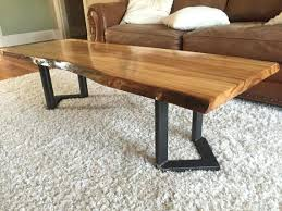 awesome live edge coffee table for