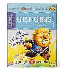 gin gins ginger caramel candy