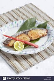 Grilled Japanese spanish mackerel ...