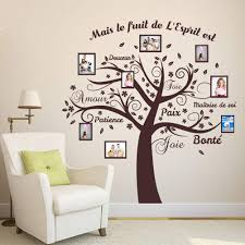Extra Large Family Tree Wall Decal With Picture Frames Vinyl Art Photo Vamosrayos