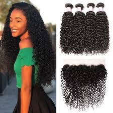 diffe types of human hair virgin