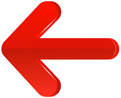 Arrow Left Red PNG Transparent Clip Art Image | Gallery ...