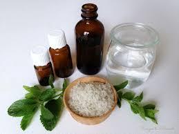 diy easy homemade herbal mouthwash