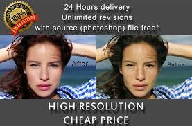 photo editing retouching and makeup