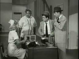 """Abbott & Costello - """"Crazy House"""" sketch with Hillary Brooke and ..."""
