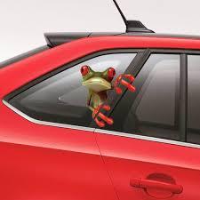 3d Funny Peep Frog Car Sticker Art Decor Cartoons Pattern Truck Window Decal Wish