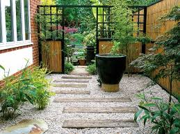 landscaping ideas for an l shaped