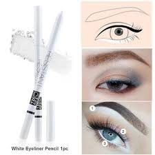 eye makeup white eyeliner pencil