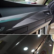 5d Shiny Gloss Glossy Carbon Fiber Film Wrap Vinyl Decal Car Sticker 24 60 Uk Diy Materials Wallpaper Rolls Sheets