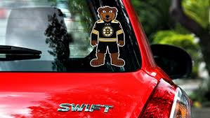 Boston Bruins Mascot Sticker Vinyl Decal Blades Mascot Sticker Sportz For Less