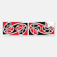 Maori Kowhaiwhai Pattern 2 Sticker Zazzle Com