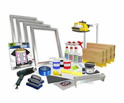 silk screen printing basic starter kit