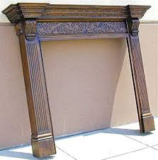 georgian fireplace mantel
