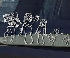 Star Wars Family Car Stickers