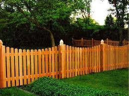 21 Picket Fence Designs Around The House Fence Design Backyard Fences Fence Landscaping