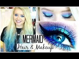mermaid hair and makeup sophdoesnails