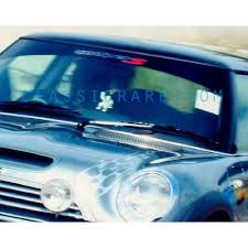 Mini Cooper S Windshield Decal
